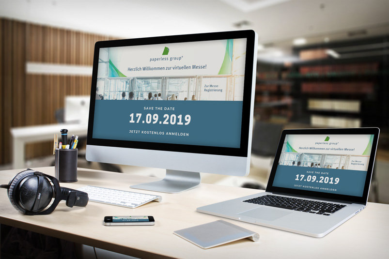 Multi-Devices-Paperless-Hausmesse